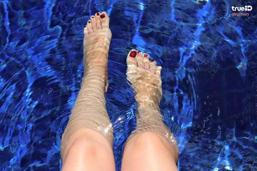 3 วิธีบริหาร ลดต้นขาง่ายๆ ตีขาในน้ำ