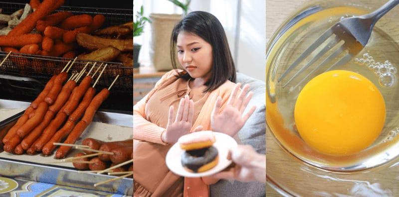 คนท้องห้ามกินอะไรบ้าง 10 อาหารคนท้องห้ามกิน อาหารคนท้องไม่ควรกิน